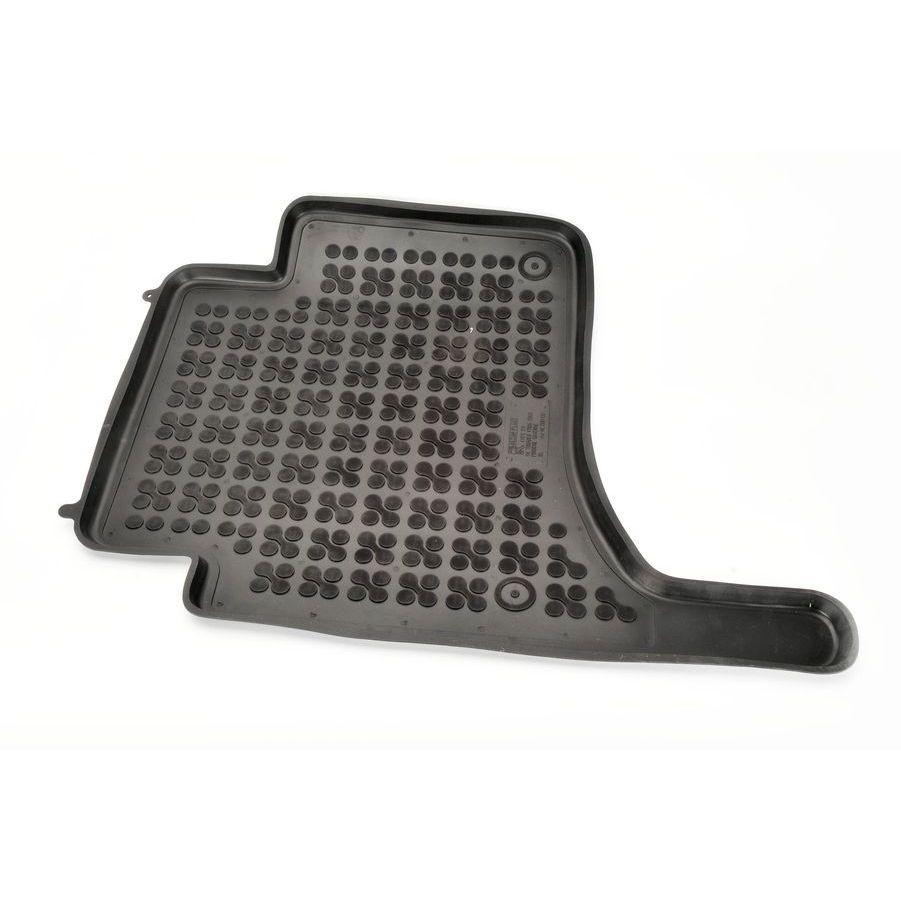 REZAW-PLAST Gumové koberce, černé, sada 4 ks (2x přední, 2x zadní), Porsche Cayenne, VW Touareg 09.2002-09.2010