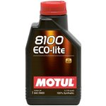 Motoröl MOTUL 8100 Ecolite 0W20, 1 Liter