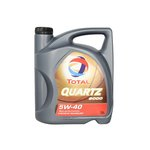 Syntetický motorový olej TOTAL QUARTZ 9000 5W40 5L