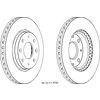 Bremsscheiben, 2 Stück FERODO DDF1528