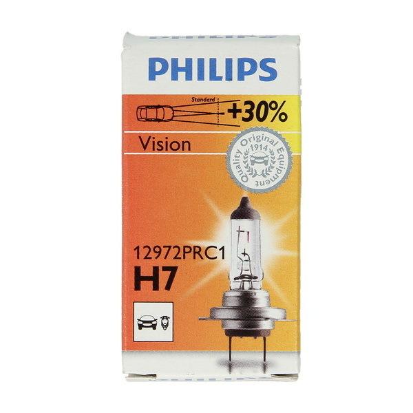 gl hlampe philips h7 12v 55w vision plus 30 audi bmw. Black Bedroom Furniture Sets. Home Design Ideas