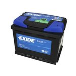 Autobaterie EXIDE Excell 12V 62Ah 540A, EB620