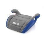 Kindersitz sitzerhöhung SPARCO F100K (Gr: 2/3, 15-36kg, grau-blau)