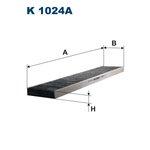 Innenraumfilter FILTRON K1024A