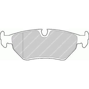 Bremsbelagsatz Scheibenbremse TRW GDB1109