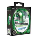 Glühlampe PHILIPS H7 (12V 55W) ColorVision Green 2 Stück