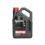 Motoröl MOTUL Specific 5W20, 5 Liter