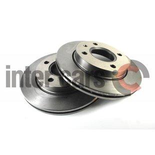 Bremsscheiben DELPHI BG2440, 2 Stück