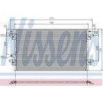 Kondenzátor, klimatizace NISSENS NIS 94551