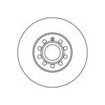 Bremsscheibe, 1 Stück TEXTAR 92120800