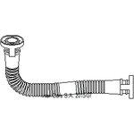 Schlauch, Zylinderkopfhaubenentlüftung TOPRAN 111 306