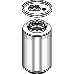 Palivový filtr HANS PRIES HP110 056