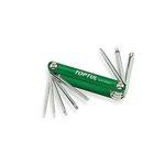 Stiftschlüsselsatz TORX TOPTUL 8-IN-1 (T9, T10, T15, T20, T25, T27, T30, T40)