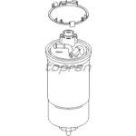 Palivový filtr HANS PRIES HP109 004
