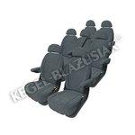 KEGEL Potah na sedadlo řidiče VAN PASSENGER, velikost S1, barva šedá