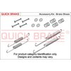 Zubehörsatz, Feststellbremsbacken QUICK BRAKE 105-0010