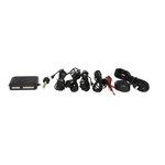 M-TECH Parkovací asistent, zadní, barva černá, průměr senzorů 21,5 mm, akustický signál