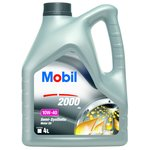 Motoröl MOBIL 2000 X1 10W40, 4 Liter