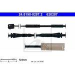 Warnkontakt, Bremsbelagverschleiß ATE 24.8190-0287.2