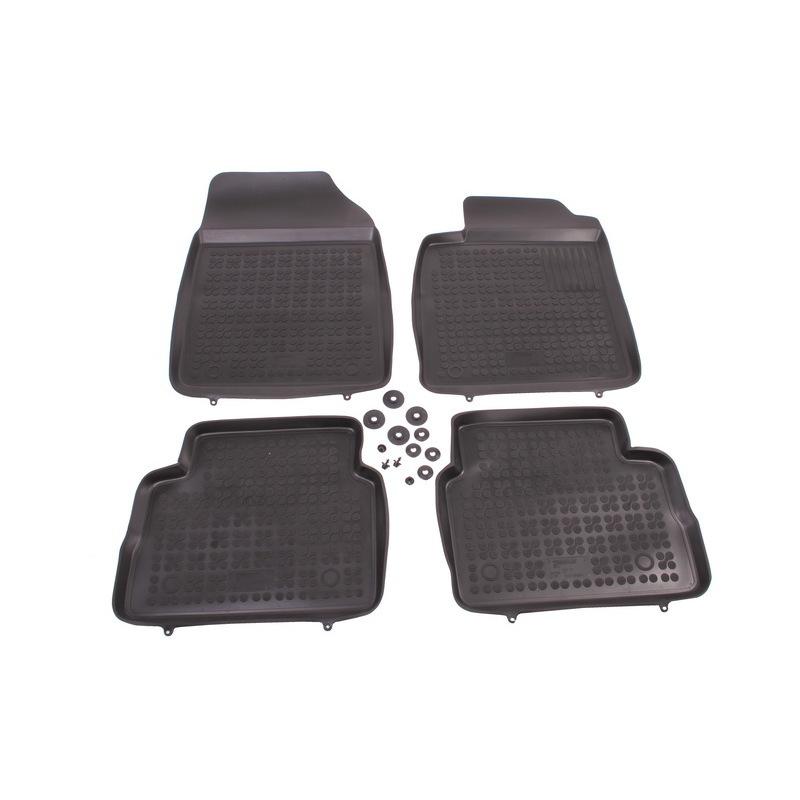 REZAW-PLAST Gumové koberce, sada 4 ks (2x přední, 2x zadní), Opel Vectra C 2002-2008 (Sedan i Hatchback)