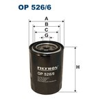 Ölfilter FILTRON OP526/6