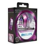 Glühlampe PHILIPS H4 (12V 60/55W) ColorVision Violet 2 Stück