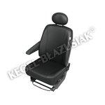 Sitzbezüge KEGEL-BLAZUSIAK Delivery Van Practical, Größe DV1 M, schwarz
