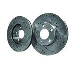 Hochleistungs-Bremsscheiben, 2 Stück SPEEDMAX 5201-01-1075PTUO