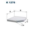 Innenraumfilter FILTRON K1278