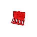 Spezial-Stecknusssatz TOPTUL 6, 8, 10, 12 mm (für beschädigte Schrauben/Nüssen)