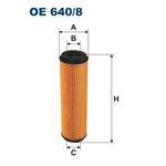 Olejový filtr FILTRON OE 640/8