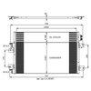 Kondensator, Klimaanlage NRF 350031