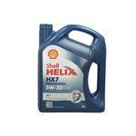 Motoröl SHELL Helix HX7 5W30, 4 Liter