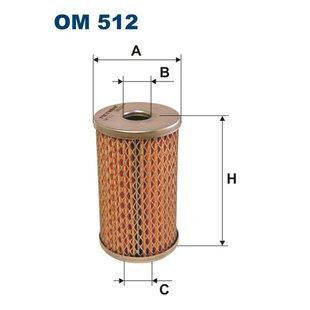 Hydraulikfilter, Lenkung FILTRON OM512