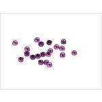 Set selbstblockierender Muttern, 20 Stück M6 violett