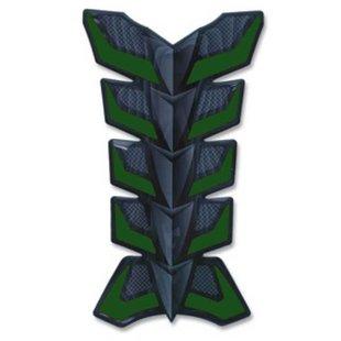 Kraftstofftank-Aufkleber Tank-Pad VICMA grün carbon