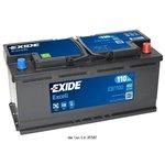 Akumulator EXIDE EXCELL EB1100 WYP