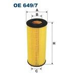 Ölfilter FILTRON OE649/7