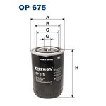 Ölfilter FILTRON OP675
