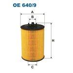 Ölfilter FILTRON OE640/9