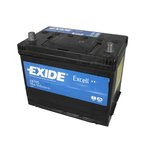 Autobaterie EXIDE Excell 12V 70Ah 540A, EB705