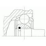Gelenksatz, Antriebswelle SPIDAN 24538