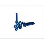 6-kantschraube M6x30 blau