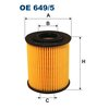 Ölfilter FILTRON OE649/5