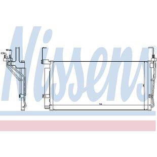 Klimakühler, Klimaanlage NISSENS NIS 94451