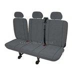 KEGEL Potahy do dodávek Delivery Van Elegance DV 3 (trojité sedadlo spolujezdce), barva šedá