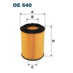 Ölfilter FILTRON OE640