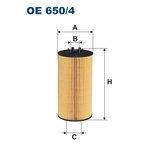 Ölfilter FILTRON OE650/4