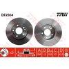 Bremsscheibe TRW DF2654, 1 Stück