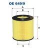 Ölfilter FILTRON OE649/9